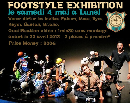 Footstyle Exhibition à Lunel