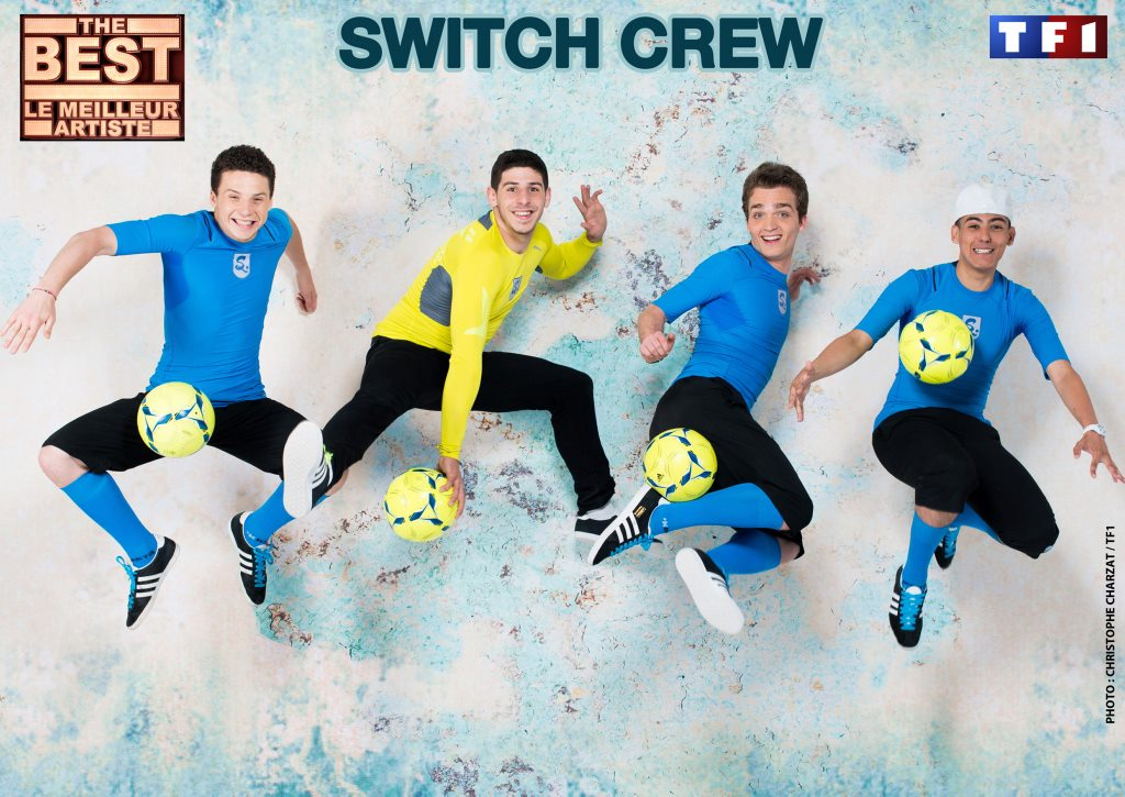 Switch Crew sur TF1 dans l'émission The Best
