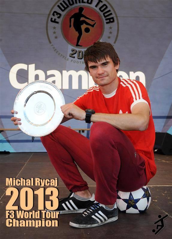 Michryc sacré champion du monde F3 de l'année 2013 !