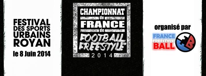 Championnats de France 2014 annoncés le 8 Juin