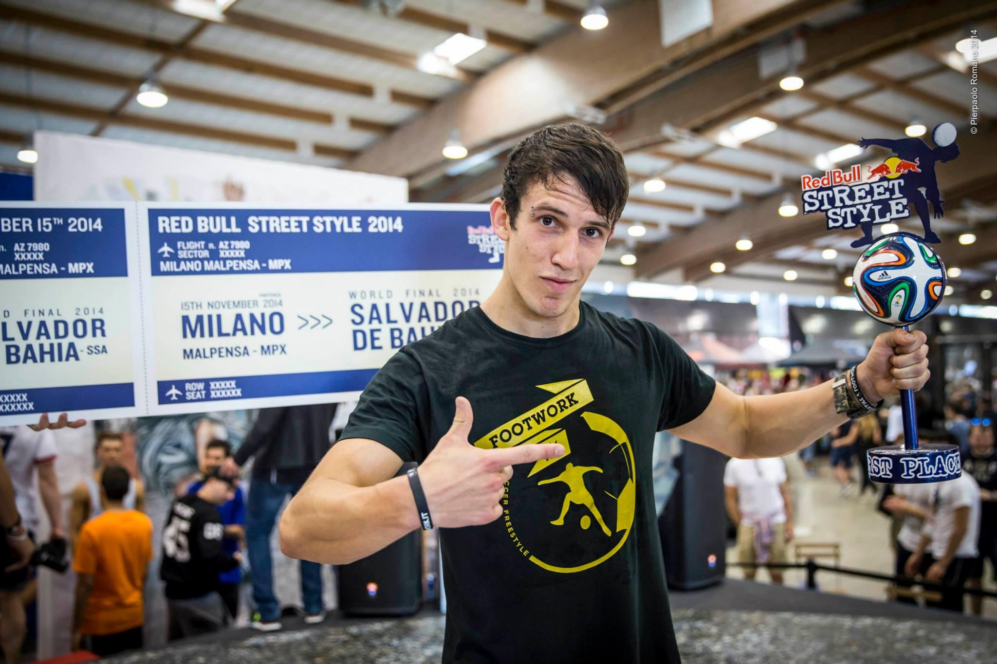 Gunther, vainqueur du RBSS Italie