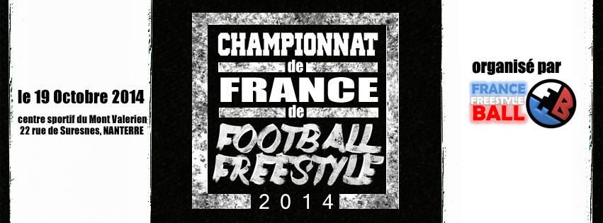 Championnat de France 2014 confirmé !!