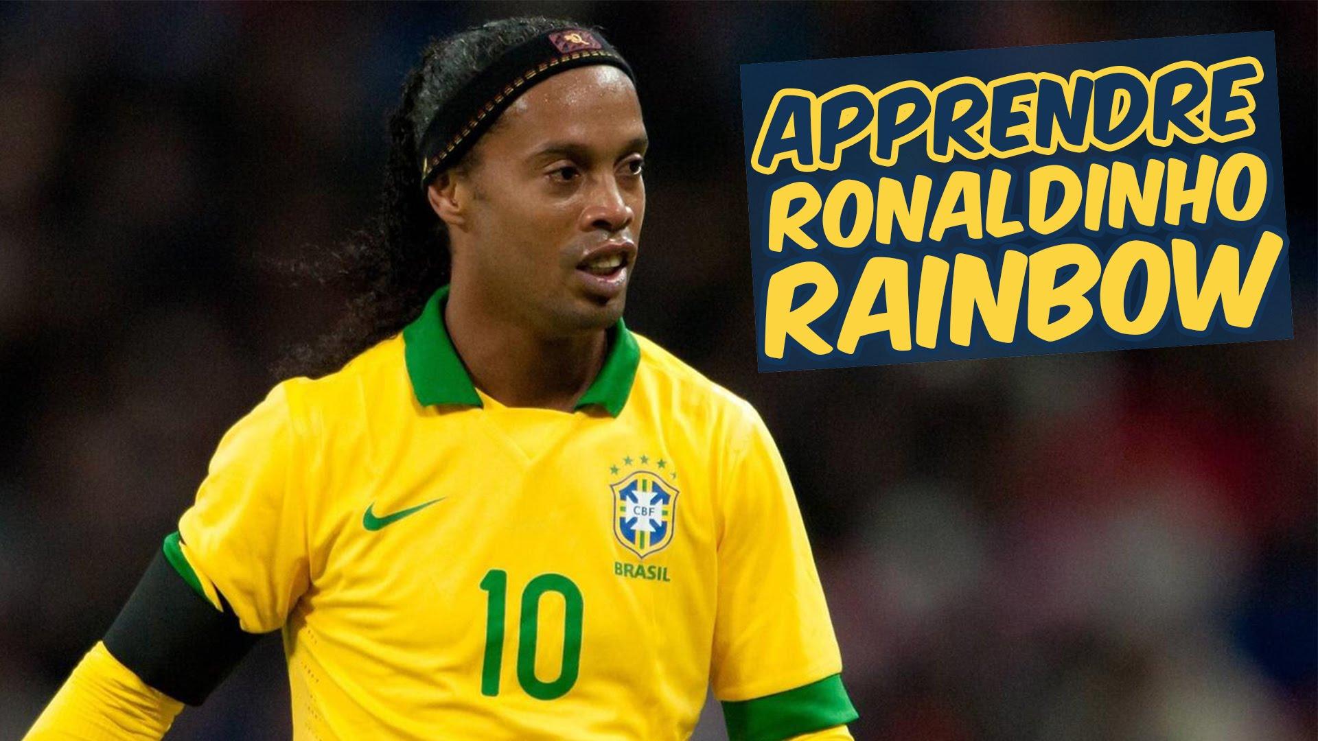 Ronaldinho rainbow