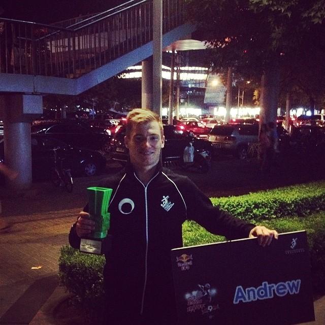 F3WT Beijing : Andrew vainqueur