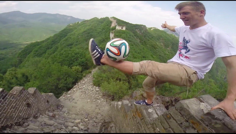 Andrew Henderson en Chine